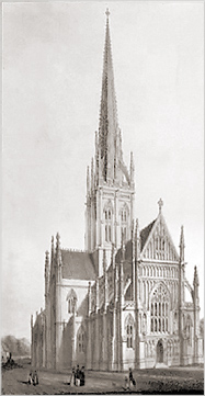 Competition for the design of the Church in Leamington