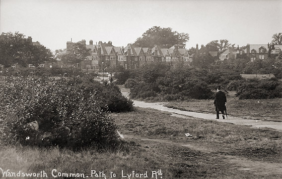 Lyford Road about 1900