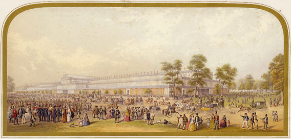 The Crystal Palace in Hyde Park, London
