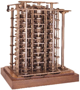 Babbage's Difference Engine No. 1