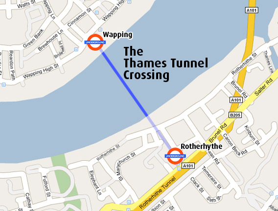 Thames Tunnel Crossing